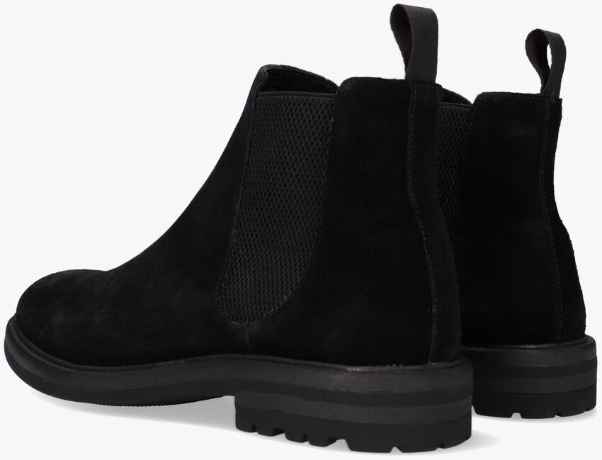 Zwarte MAZZELTOV Chelsea boots 4146  - larger