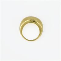Gouden NOTRE-V Ring RING ZEGEL ONE SIZE  - medium
