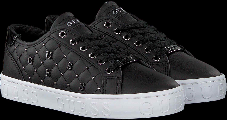 Zwarte GUESS Lage sneakers GLADISS Omoda.nl