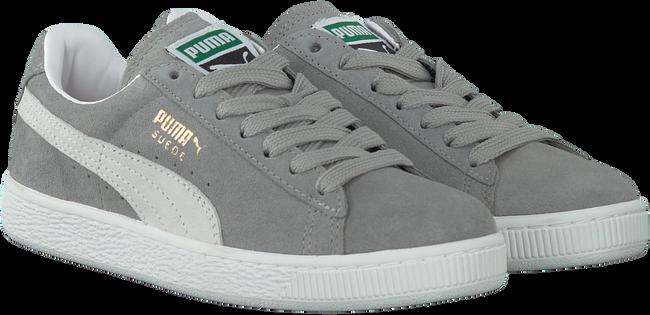 Grijze PUMA Sneakers SUEDE CLASSIC+ DAMES  - large