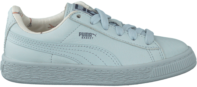 Blauwe PUMA Sneakers TINY COTTONS LEATHER  - large