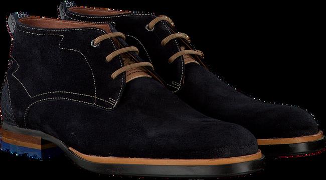 Blauwe FLORIS VAN BOMMEL Nette schoenen 10947  - large