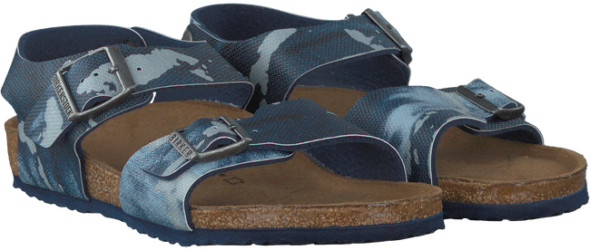 Blauwe BIRKENSTOCK PAPILLIO Sandalen NEW YORK CITY KIDS  - large
