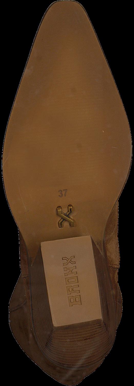 Bruine BRONX Lange laarzen LOW KOLE 14186 Omoda.nl