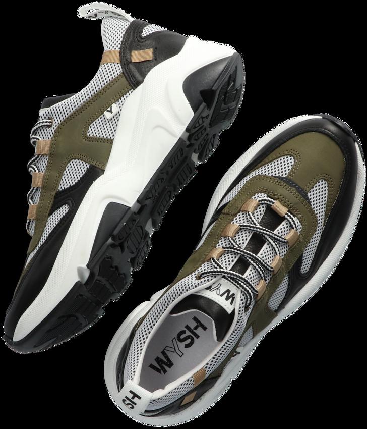 Groene WYSH Lage sneakers CALVIN  - larger