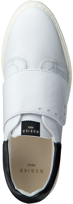 Witte NUBIKK Sneakers NOAH CLASSIC ONE STRAP  - large