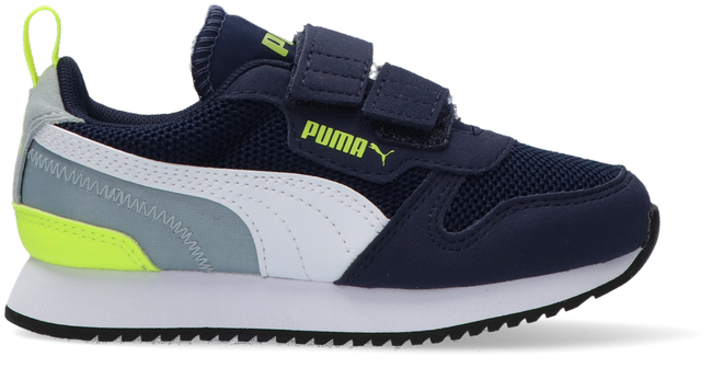 Blauwe PUMA Lage sneakers PUMA R78 INF/PS  - large