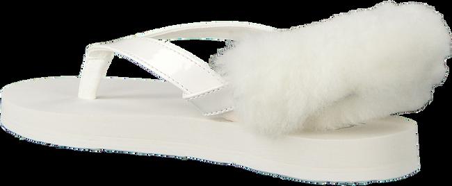 witte UGG Slippers LAALAA HXk9M6KD