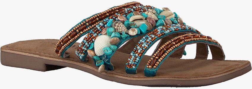 Blauwe LAZAMANI Slippers 75.704  - larger