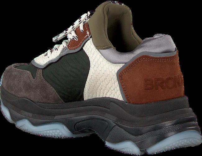 Groene BRONX Sneakers BAISLEY  - large