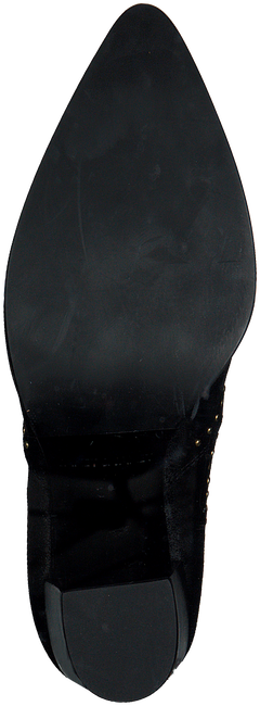 Zwarte JANET & JANET Enkellaarsjes 40651  - large