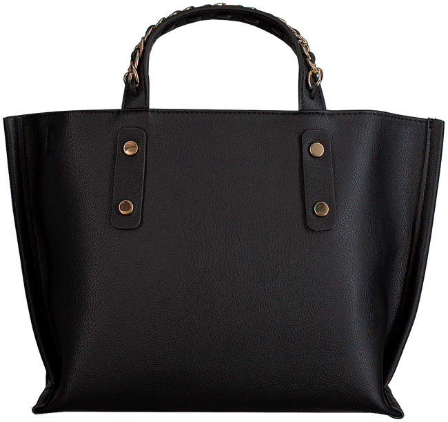 Zwarte TOMMY HILFIGER Handtas TOMMY CHAIN SMALL TOTE - large