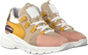 Gele CLIC! Lage sneakers CL-9855  - small
