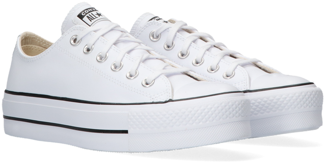 Witte CONVERSE Lage sneakers CHUCK TAYLOR ALL STAR LIFT  - large