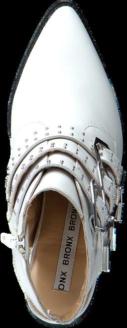 Witte BRONX Enkellaarsjes BAMERICANAX  - large