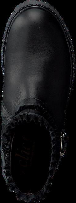 Zwarte CLIC! Enkellaarsjes 9547 - large