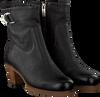 Zwarte SHABBIES Enkellaarsjes 182020117 - small