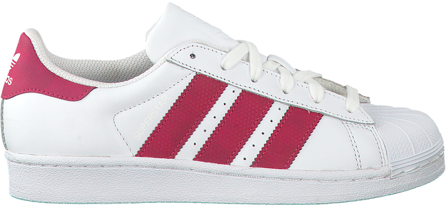 Witte ADIDAS Sneakers SUPERSTAR J  - large