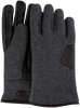 Grijze UGG Handschoenen FABRIC AND LEATHER GLOVE - small