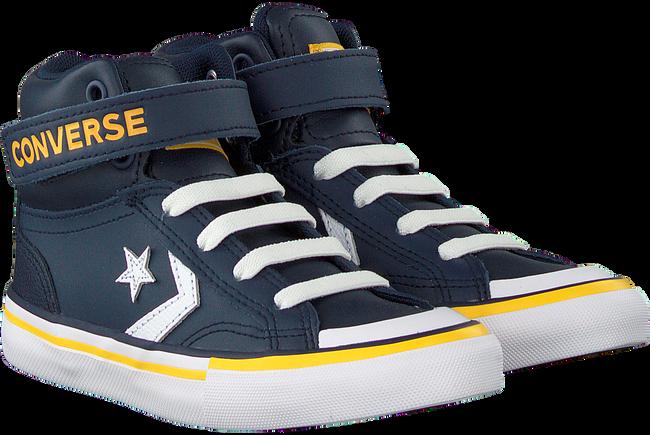 Blauwe CONVERSE Hoge sneaker PRO BLAZE STRAP HI KIDS  - large