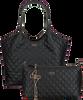 Zwarte GUESS Shopper MIRIAM SHOPPER - small