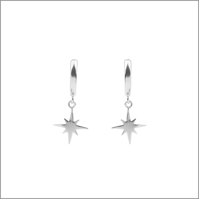 ATLITW STUDIO OORBELLEN SOUVENIR EARRINGS STAR BURST - large