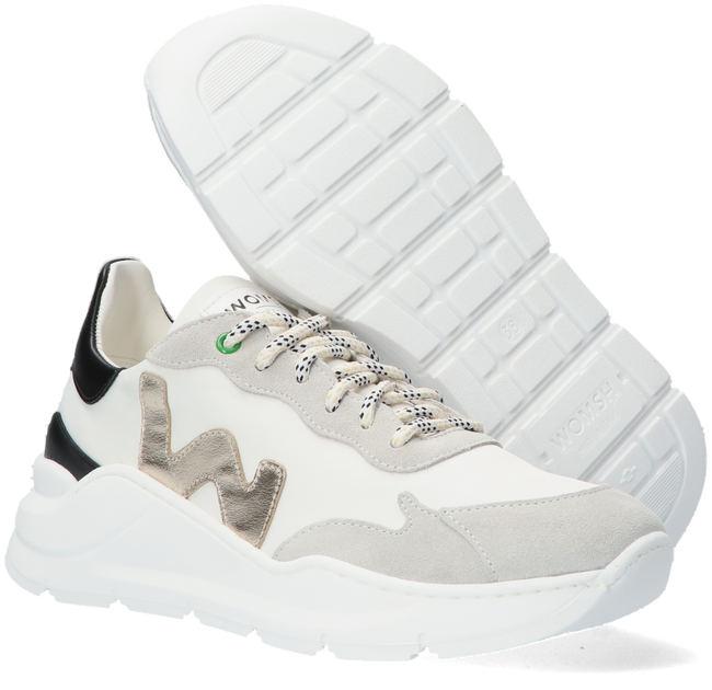 Witte WOMSH Lage sneakers WAVE  - large