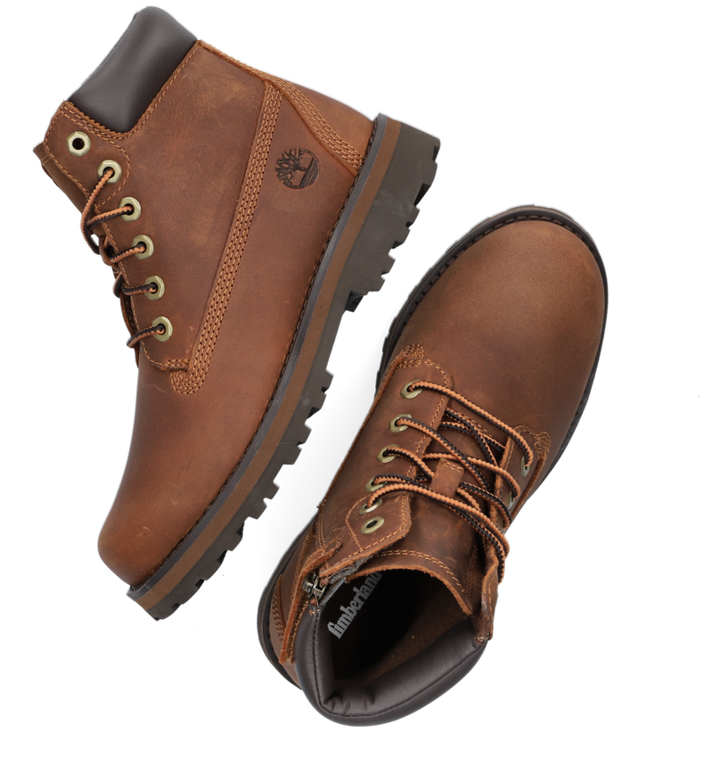 Cognac TIMBERLAND Veterboots COURMA KID TRADITIONAL 6 INCH  - larger