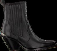 Zwarte TORAL Enkellaarsjes 12542  - medium