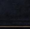 Zwarte HERSCHEL Rugtas NOVA SMALL CORDUROY - small