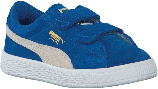Blauwe PUMA Sneakers SUEDE 2 STRAPS - large