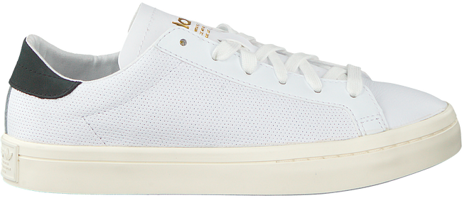 Witte ADIDAS Sneakers COURTVANTAGE WOMAN  - large