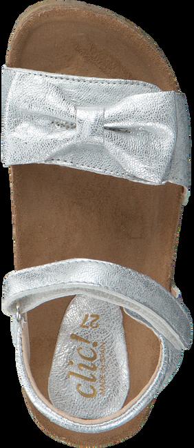 Zilveren CLIC! Sandalen 9179  - large