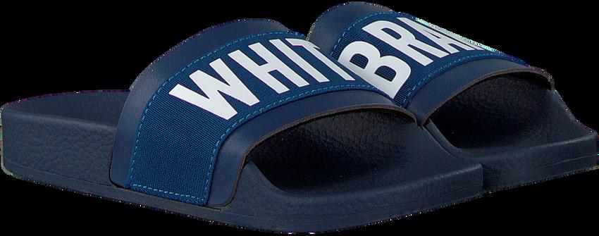 Blauwe THE WHITE BRAND Slippers ELASTIC MINIMAL KIDS - larger