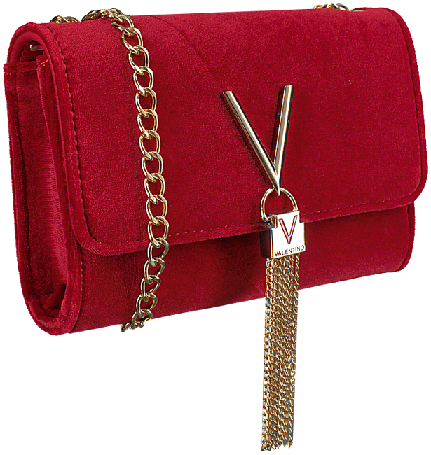 Rode VALENTINO HANDBAGS Schoudertas MARILYN CLUTCH SMALL - large