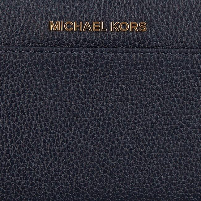 Blauwe MICHAEL KORS Portemonnee POCKET ZA - large