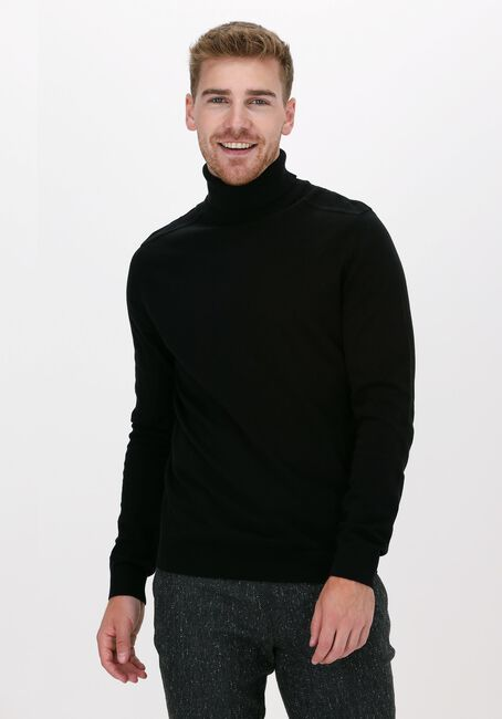 Zwarte SELECTED HOMME Coltrui BERG ROLL NECK - large