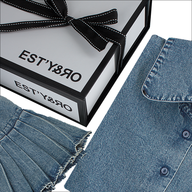 Blauwe EST'Y&RO Kraagje EST'50 - large