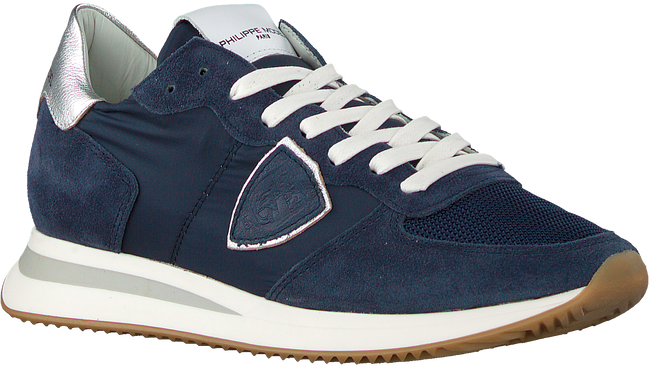 Blauwe PHILIPPE MODEL Lage sneakers TRPX L D  - large
