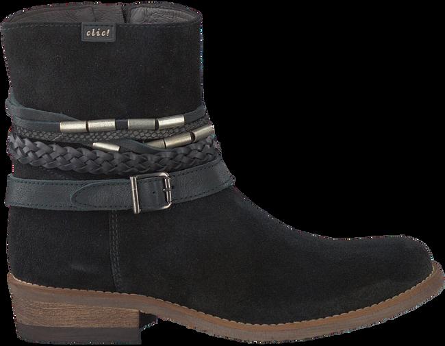 Zwarte CLIC! Lange laarzen CL9067  - large