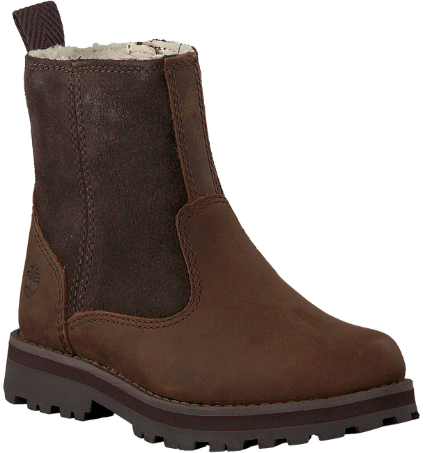 Bruine TIMBERLAND Enkelboots COURMA KID WARM LINED  - large