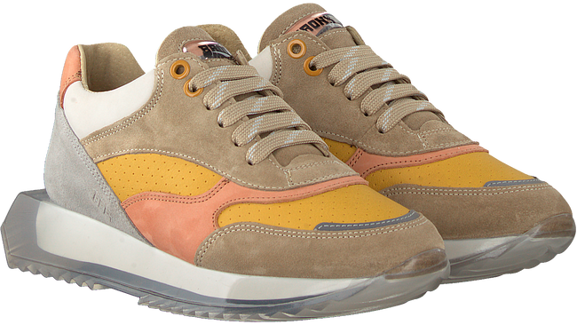 Taupe BRONX Lage sneakers LINKK-UP  - large