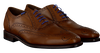 Cognac FLORIS VAN BOMMEL Nette schoenen 19470  - small