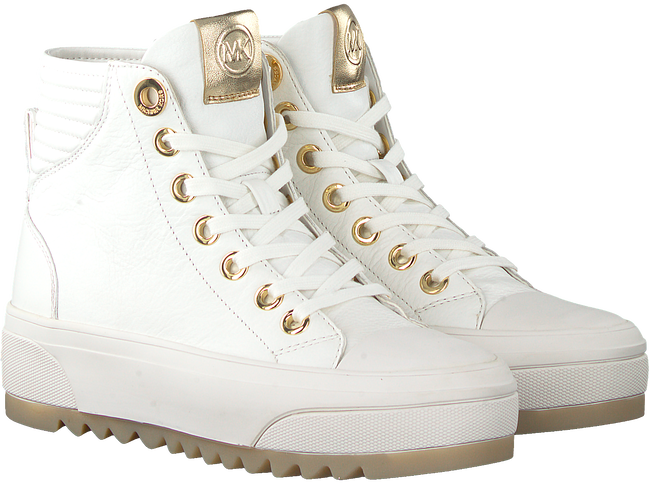 Witte MICHAEL KORS Hoge sneaker KEEGAN HIGH TOP  - large