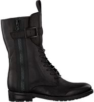 Zwarte BLACKSTONE Veterboots SL16  - medium