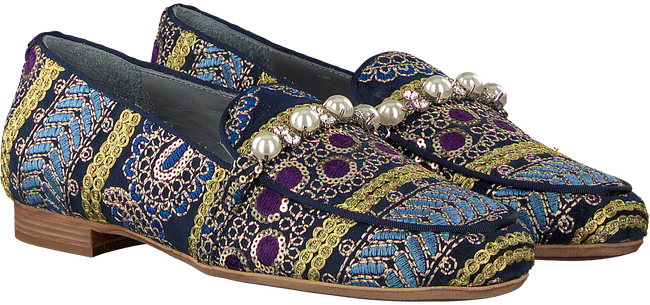 Blauwe MARIPE Loafers 26226 - large