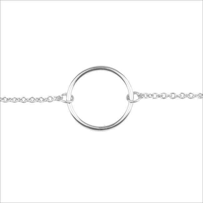 Zilveren ALLTHELUCKINTHEWORLD Armband SOUVENIR BRACELET CIRCLE - large