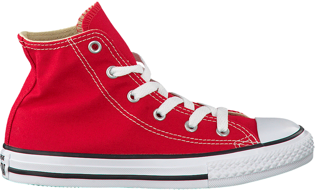 Rode CONVERSE Sneakers CTAS HI KIDS  - large