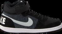 Zwarte NIKE Sneakers COURT BOROUGH MID (KIDS) - medium