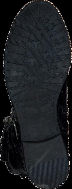 Zwarte NIKKIE Veterboots COIN BOOTS  - large